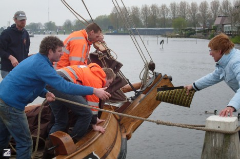 Mattenschippersrace 2012 in volle wind