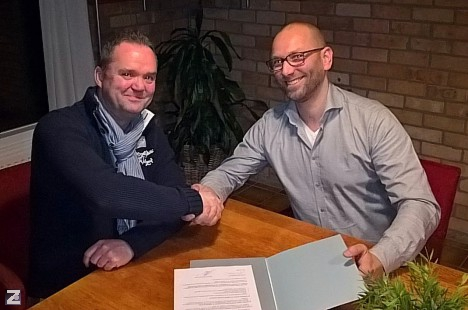 Contract met sponsor Vesta Intracon BV verlengd